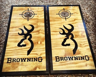 Browning Cornhole Set With Bags