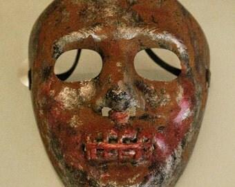 "The Silent Farmer -  PostApocalyptic Mask - Halloween Horror Mask - ""The Purge"" Mask"