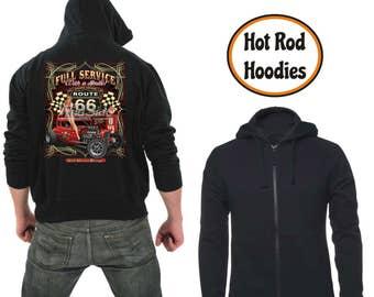 Zipper hoodie Full service