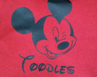 Adult Mickey Toodles t shirt
