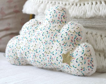 Cushion shape cloud room child