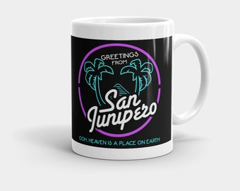 San Junipero Mug   Black Mirror TV Show