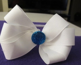 Hair bow hard head band