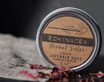 Echinacea Herbal Salve