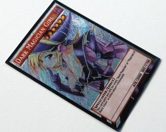 Dark Magician Girl v4 YUGIOH orica SECRET RARE custom altered art