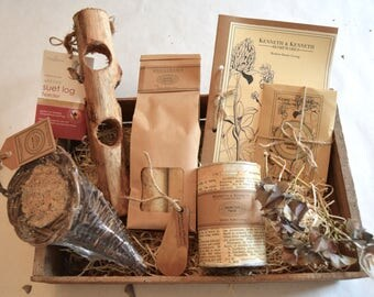 Bird Feeder Gardening Collection // Gardener Gift // Gift Set // Gifts for Him // Gifts for Her //