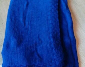 Handmade, knitted blanket for kids