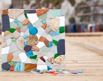 Mixed Media Mosaic Wall Art