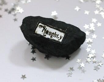 Lump of Coal Christmas Stocking Filler Novelty Gift for Naughty Boys and Girls!
