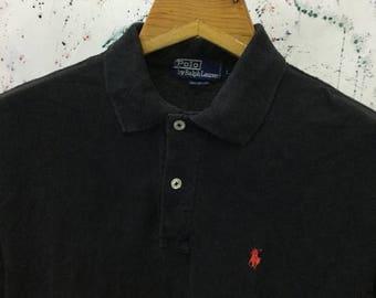SALE 25% Vintage Polo Ralph Lauren Shirt 90s Size L