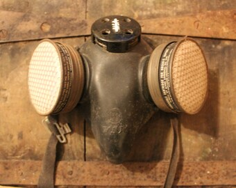 Miner's Pittsburgh P.A. Respirator Gas Mask