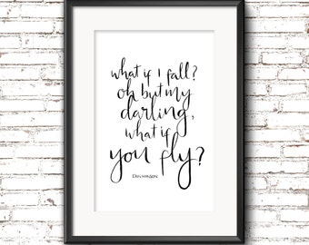 A4 Print - What If You Fly