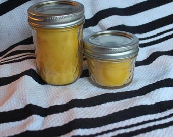 100% pure beeswax candle (4oz/8oz/16oz)
