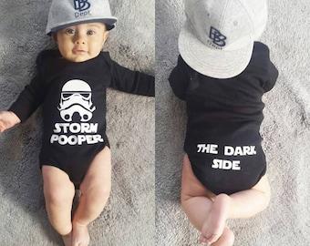 Star Wars Storm Pooper Onesie, Baby Bodyvest, Baby Bodysuit/Funny Onesie / Baby Outfit