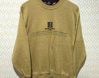 RARE!!! Michiko London Sweatshirt Michiko London Jeans Pullover Jumper Sweater