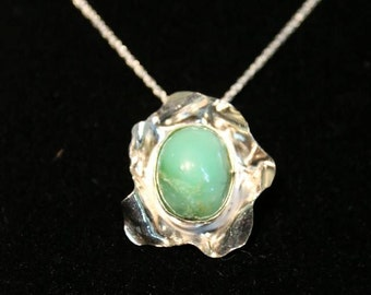 Aventurine in Sterling Silver