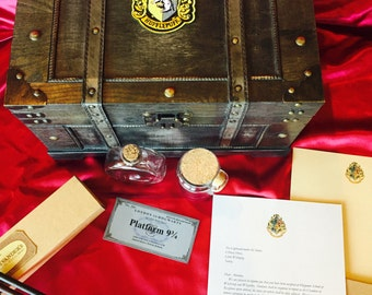 Wizard Trunk, Harry Potter trunk with Themed contents-Almost sold out!