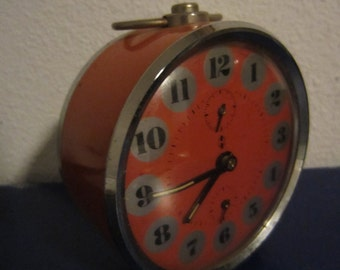 Vintage Orange alarm clock