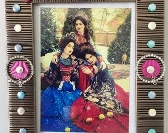 Photo frame, boho