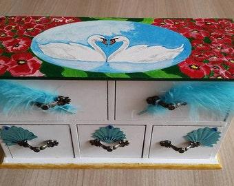 BOX A BIJOUX Swan