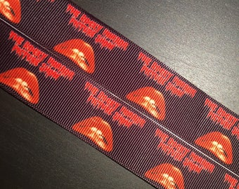 """1/3/5/10 Yards - 1"""" Rocky Horror Picture Show Grosgrain Ribbon"""