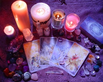 One Relationship Question Tarot reading + Love Oracle advice