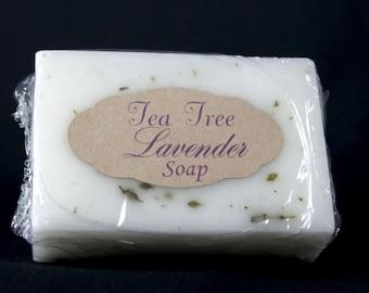 Tea Tree and Lavender Goats Milk Soap
