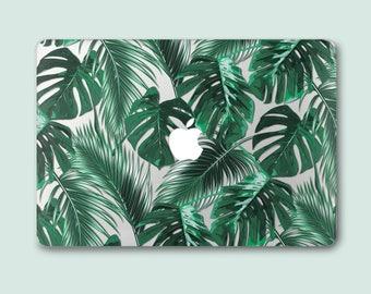 Palm MacBook Case Green Leaf Macbook Air Case Macbook Air 13 Case MacBook Pro Retina 15 Cover Macbook Pro 15 Case MacBook 12 Case COCm037
