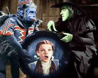 Wizard of Oz - Judy Garland - Wizard of Oz Poster - Wall Art - Movie Print - Movie Art - Movie Lover - 8x10 - 11x14 (JS1293)