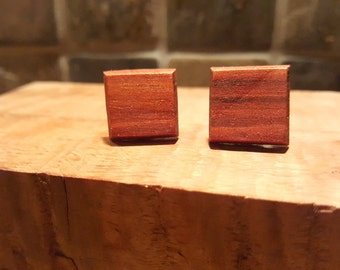 Redheart cufflinks. Valentines day gift. I love you. Special occasion