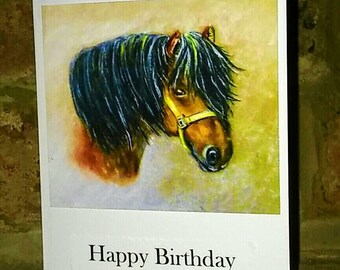 Bertie Greetings card