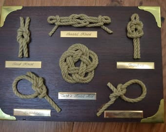 Rope Knot Display Board