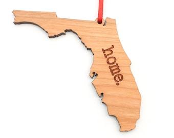 Florida home. Christmas Ornament - FL Florida State Ornament - Home Christmas Ornament