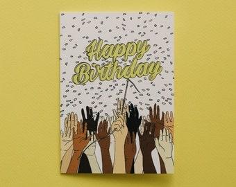 Happy Birthday - party hands