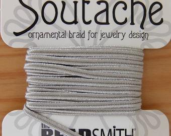Silvery Grey The Bead Smith Soutache - STR 207