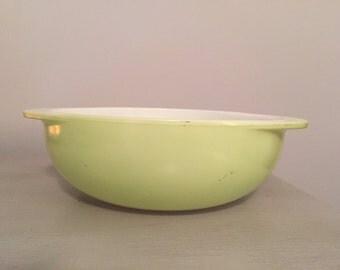 Vintage Pyrex Lime Casserole Dish