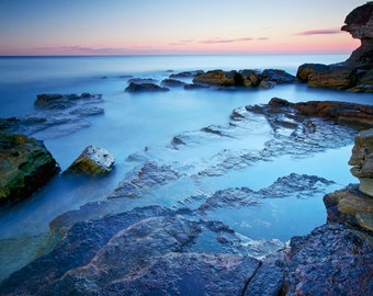 Sydney Beach Photography, Beach photo, Warriewood, Coastal photography, Ocean sunset, Coastal Print, Home Decor, Coastal Art, Beach wall art