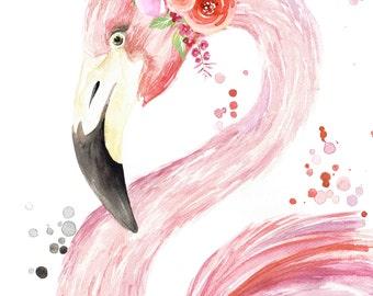 Flamingo Crown Etsy