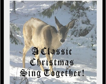 Family Christmas Chord Book and Song Books, all three publications for download for a family sing.