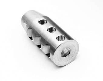 "Stainless Steel Muzzle Break 1/2""x28 thread"