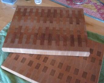 End grain bread or cutting boards