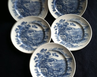 Enoch Wedgwood (Turnstall) Ltd Plates Set of 7