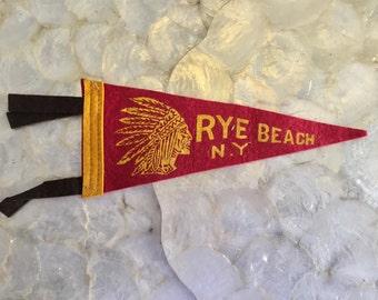 1950's Rye Beach, NY Pendant
