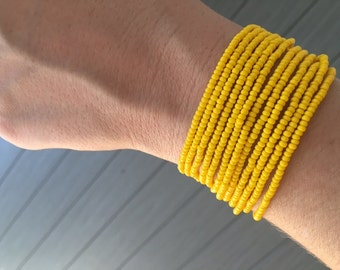 Beaded bracelets  (Sold separately)