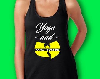 Women's Yoga and WuTang tank top