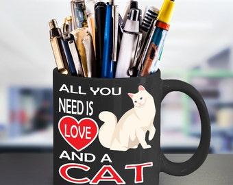 Cat Mug - Cat Lover Mug - Cat Lover Gift - Gift For Cat Lovers -  Pet Lover Mug - Funny Mug - Funny Cat Mug