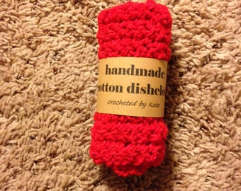 Handmade Cotton Dishcloth