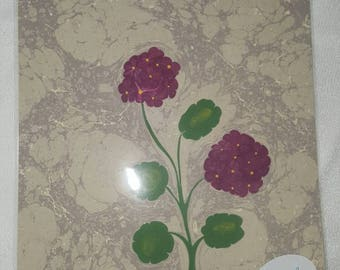 Handmade ebru marble placemats