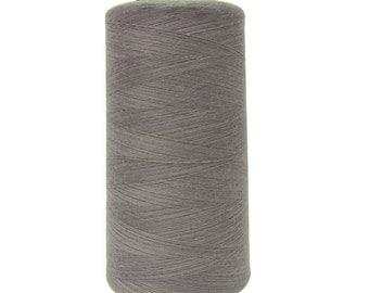 1 Pcs Grey Thread, Polyester Thread, Quilting Serger Thread, Sewing Thread Spool, Beading Thread Sewing Accessories MT138Q