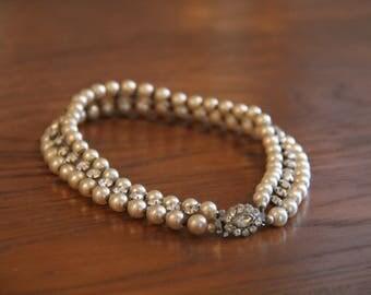 Vintage choker necklace 1930s/40s style
